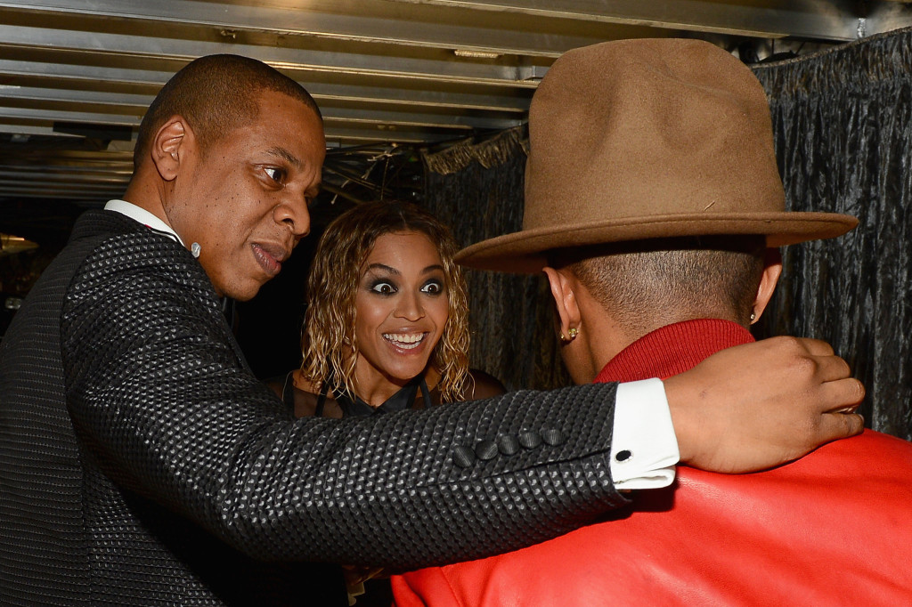 Jay-Z-Beyoncé-got-excited-about-Pharrell-his-hat